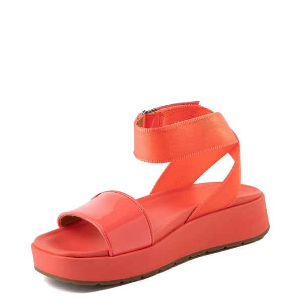 alternate view Womens UGG® Lennox Sandal - Pop CoralALT3