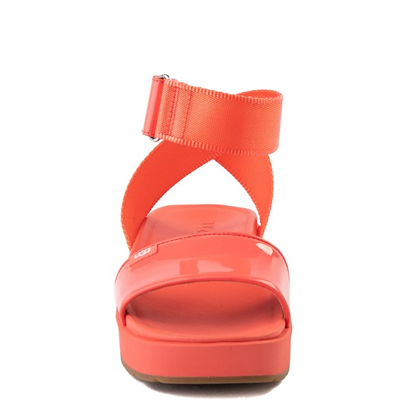 alternate view Womens UGG® Lennox Sandal - Pop CoralALT4