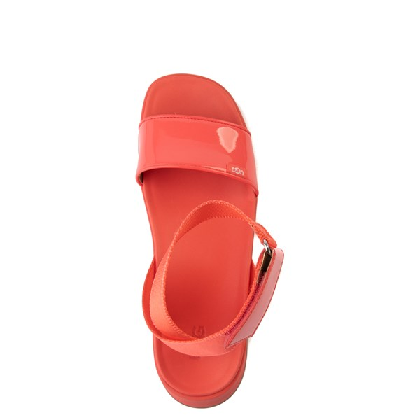alternate view Womens UGG® Lennox Sandal - Pop CoralALT4B