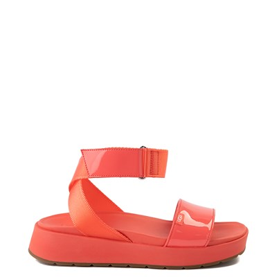 Main view of Womens UGG® Lennox Sandal - Pop Coral