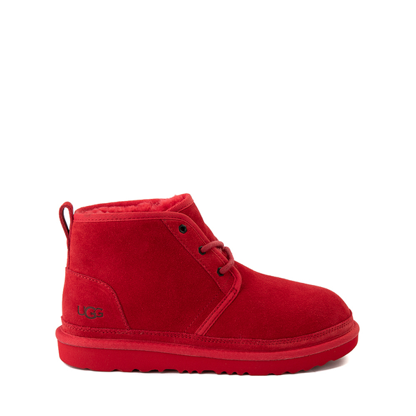 Main view of UGG® Neumel II Boot - Little Kid / Big Kid - Samba Red