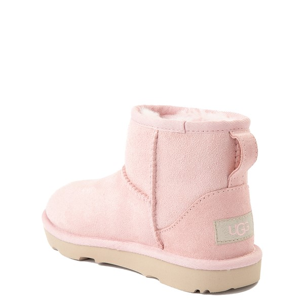 alternate view UGG® Classic Mini II Boot - Little Kid / Big Kid - Pink CloudALT1