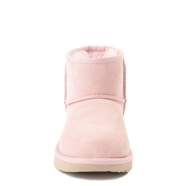alternate view UGG® Classic Mini II Boot - Little Kid / Big Kid - Pink CloudALT4