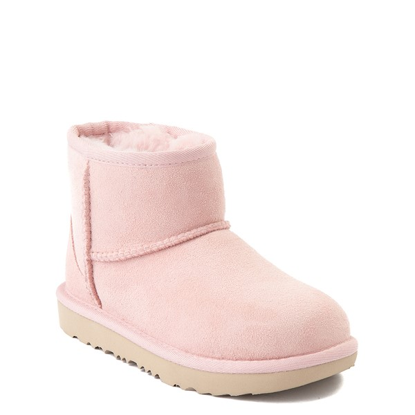 alternate view UGG® Classic Mini II Boot - Little Kid / Big Kid - Pink CloudALT5
