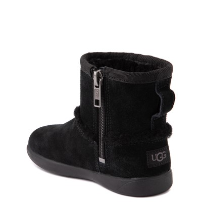 Alternate view of UGG® Classic Mini Fluff Spill Seam Boot - Toddler / Little Kid - Black