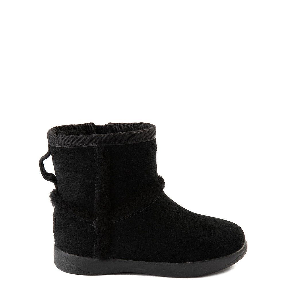 UGG® Classic Mini Fluff Spill Seam Boot - Toddler / Little Kid - Black