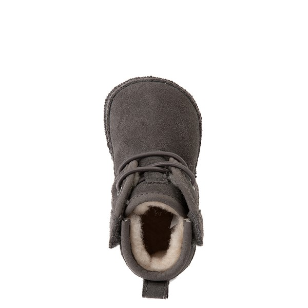 alternate view UGG® Neumel Boot - Baby / Toddler - CharcoalALT2