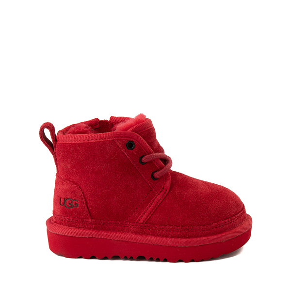 Main view of UGG® Neumel II Boot - Toddler / Little Kid - Samba Red