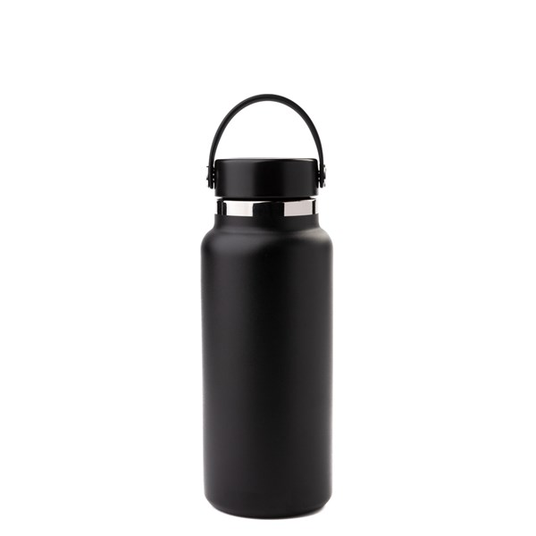 alternate view Hydro Flask® 32 oz Wide Mouth Water Bottle - BlackALT1