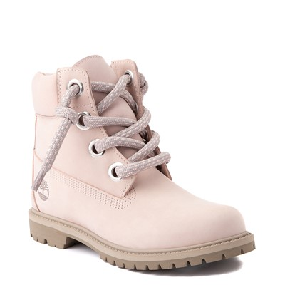 "Alternate view of Womens Timberland 6"" Premium Convenience Boot - Light Pink"