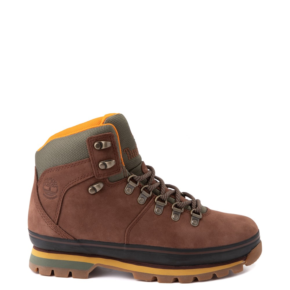 Womens Timberland Euro Hiker Boot - Dark Brown