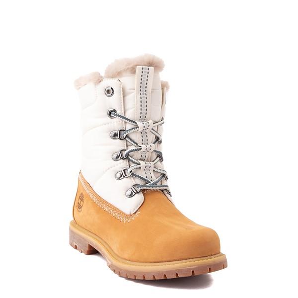 """alternate view Womens Timberland 6"""" Premium Puffer Boot - WheatALT1B"""