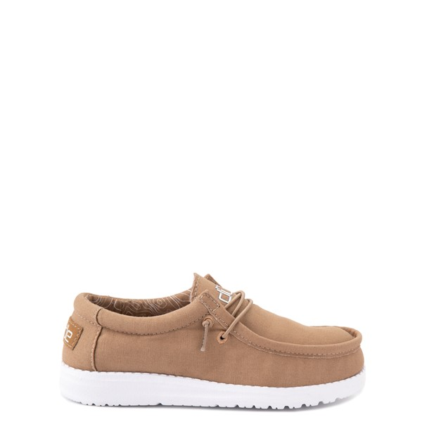 Main view of Hey Dude Wally Casual Shoe - Little Kid / Big Kid - Tan