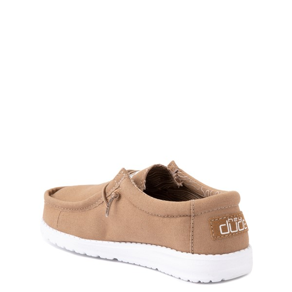 alternate view Hey Dude Wally Casual Shoe - Little Kid / Big Kid - TanALT1