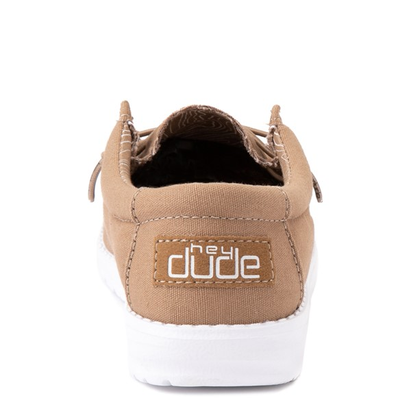 alternate view Hey Dude Wally Casual Shoe - Little Kid / Big Kid - TanALT2B