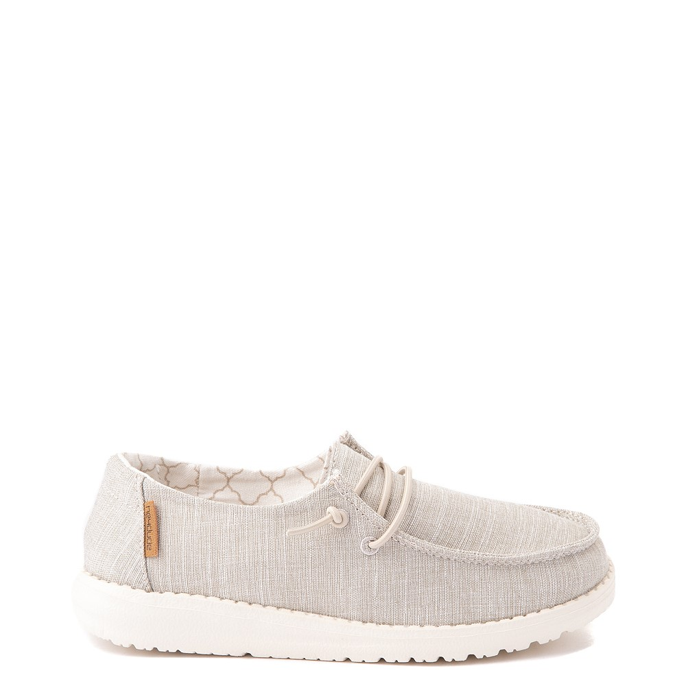 Hey Dude Wendy Slip On Casual Shoe - Little Kid / Big Kid - Beige