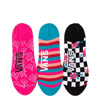 Alternate view of Womens Vans Floral Canoodle Liners 3 Pack - Multicolor