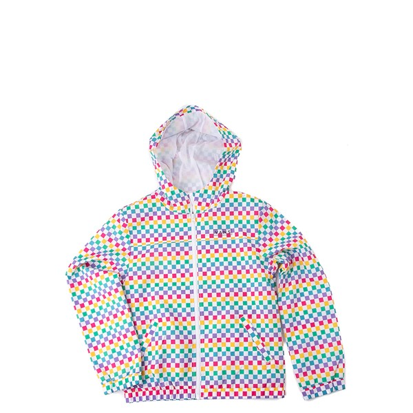 Main view of Vans Checkerboard Windbreaker - Little Kid / Big Kid - Rainbow