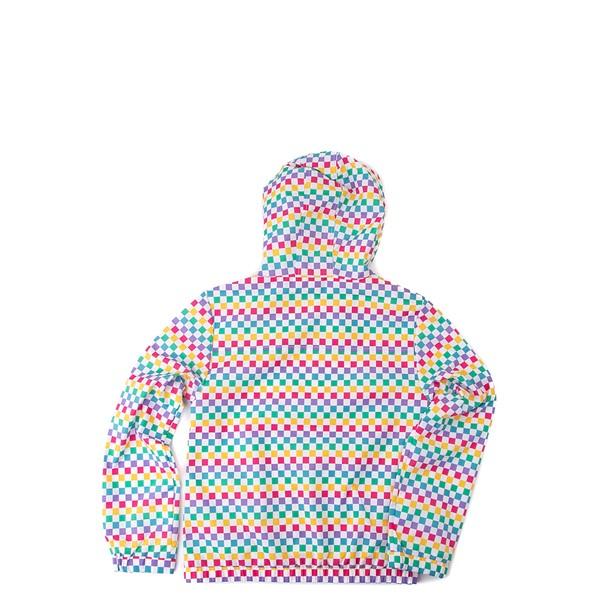 alternate view Vans Checkerboard Windbreaker - Little Kid / Big Kid - RainbowALT1