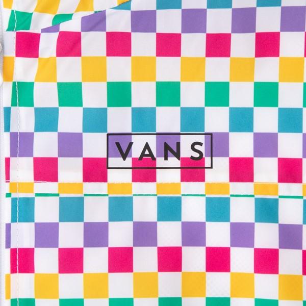 alternate view Vans Checkerboard Windbreaker - Little Kid / Big Kid - RainbowALT2