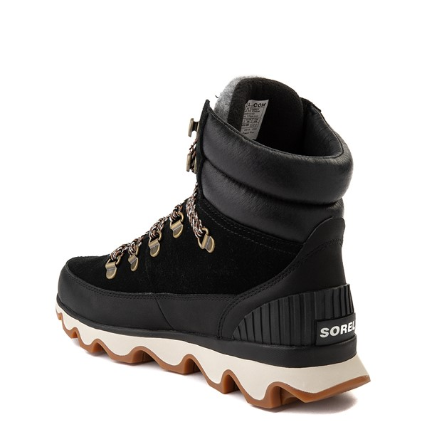 alternate view Womens Sorel Kinetic™ Conquest Boot - BlackALT1