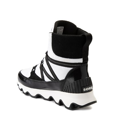 Alternate view of Womens Sorel Kinetic™ Sport Bootie - White / Black