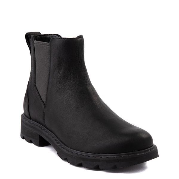 alternate view Womens Sorel Lennox™ Chelsea Boot - BlackALT1