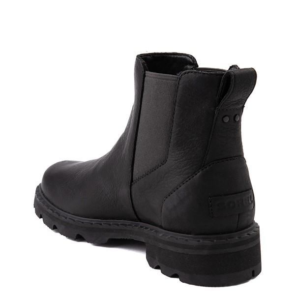 alternate view Womens Sorel Lennox™ Chelsea Boot - BlackALT2