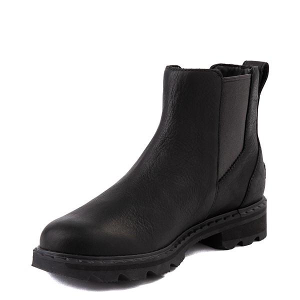 alternate view Womens Sorel Lennox™ Chelsea Boot - BlackALT3