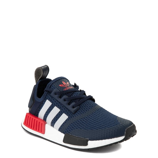 alternate view adidas NMD R1 Athletic Shoe - Big Kid - NavyALT1B