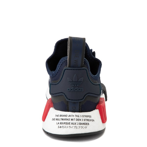 alternate view adidas NMD R1 Athletic Shoe - Big Kid - NavyALT4