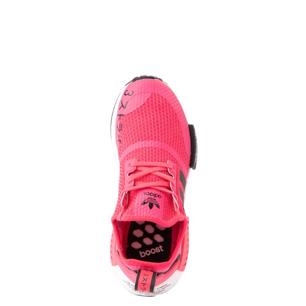 alternate view adidas NMD R1 Athletic Shoe - Big Kid - Pink / BlackALT4B