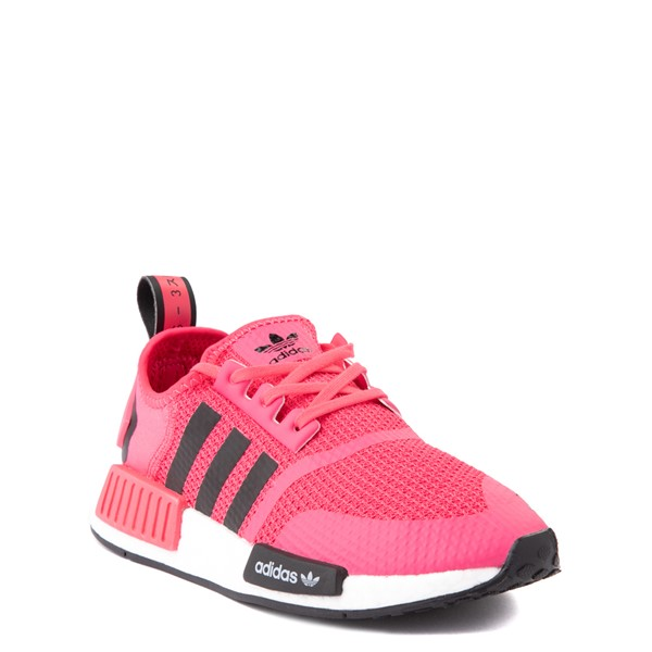 alternate view adidas NMD R1 Athletic Shoe - Big Kid - Pink / BlackALT5