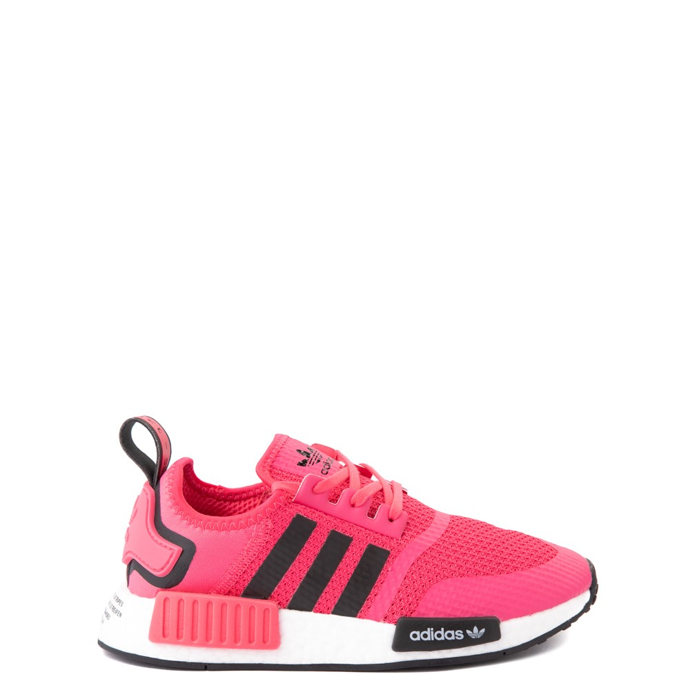 adidas NMD R1 Athletic Shoe - Big Kid - Pink / Black