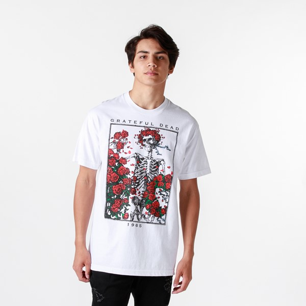 Main view of Mens Grateful Dead Bertha Tee - White