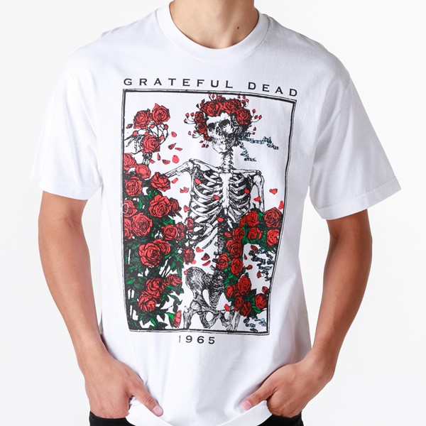 alternate view Mens Grateful Dead Bertha Tee - WhiteALT2