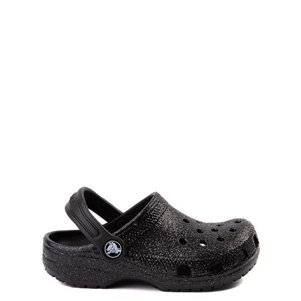 Crocs Classic Glitter Clog - Baby / Toddler / Little Kid - Black