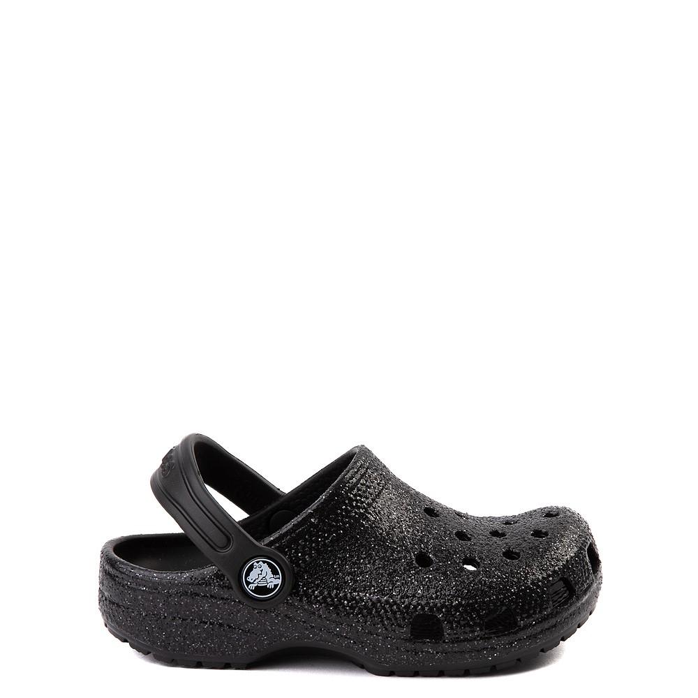 Crocs Classic Glitter Clog - Baby / Toddler / Little Kid - Black