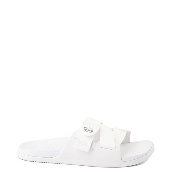 Womens Chaco Chillos Slide Sandal - White