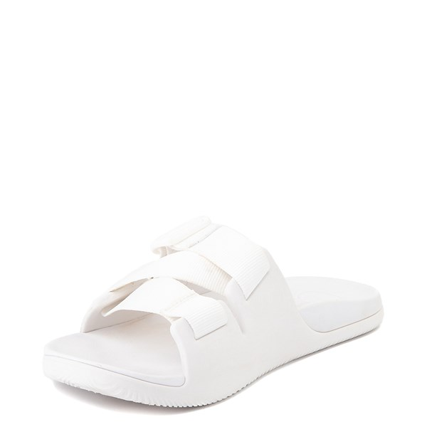 alternate view Womens Chaco Chillos Slide Sandal - WhiteALT3