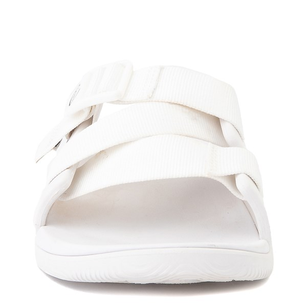 alternate view Womens Chaco Chillos Slide Sandal - WhiteALT4