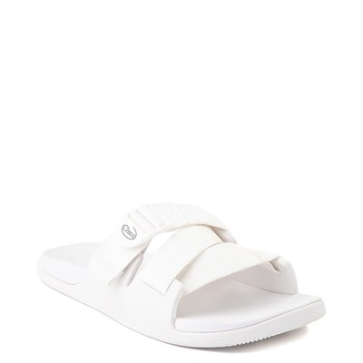 Alternate view of Womens Chaco Chillos Slide Sandal - White