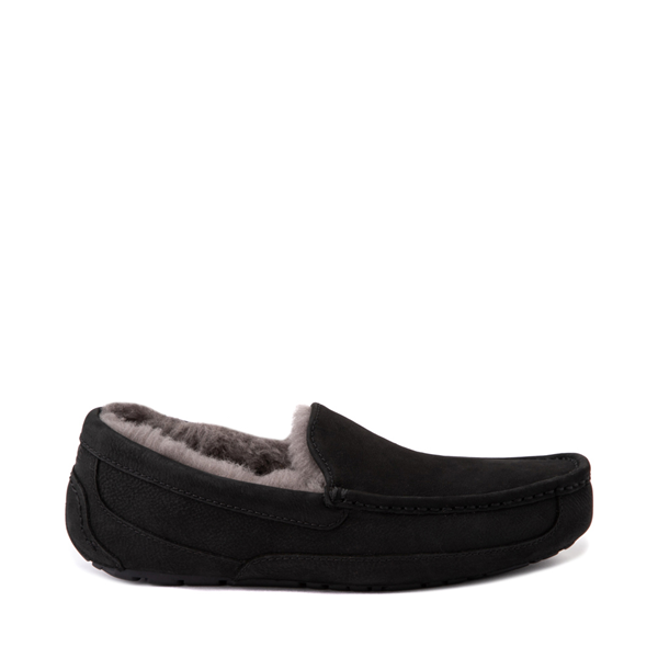 Main view of Mens UGG® Ascot Slip On Casual Shoe - Black