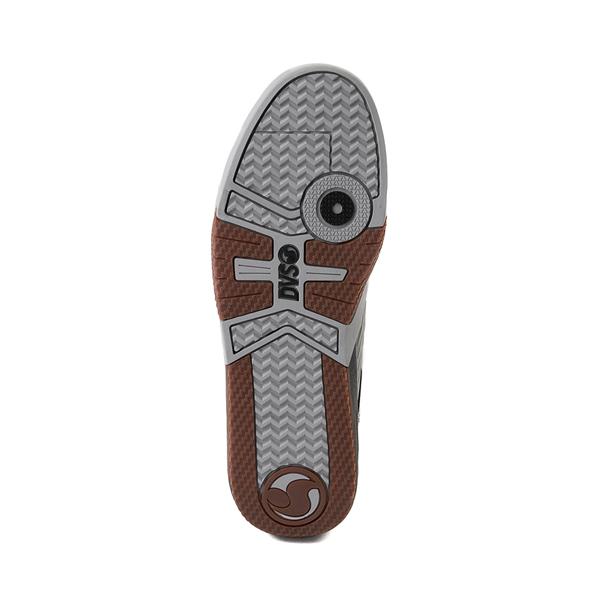 alternate view Mens DVS Devious Skate Shoe - Charcoal / Black / TurquoiseALT3