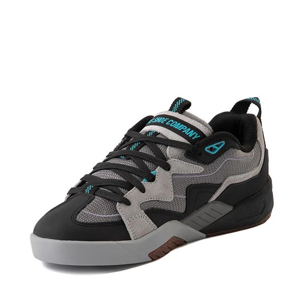 alternate view Mens DVS Devious Skate Shoe - Charcoal / Black / TurquoiseALT4