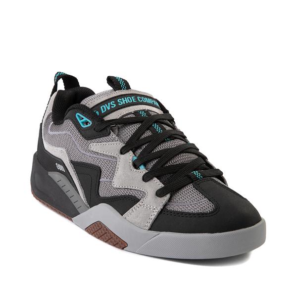 alternate view Mens DVS Devious Skate Shoe - Charcoal / Black / TurquoiseALT5