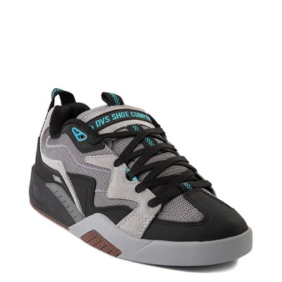 Alternate view of Mens DVS Devious Skate Shoe - Charcoal / Black / Turquoise