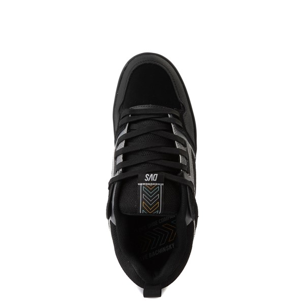 alternate view Mens DVS Comanche 2.0+ Skate Shoe - Black / GrayALT4B