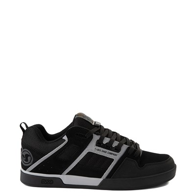 Main view of Mens DVS Comanche 2.0+ Skate Shoe - Black / Gray