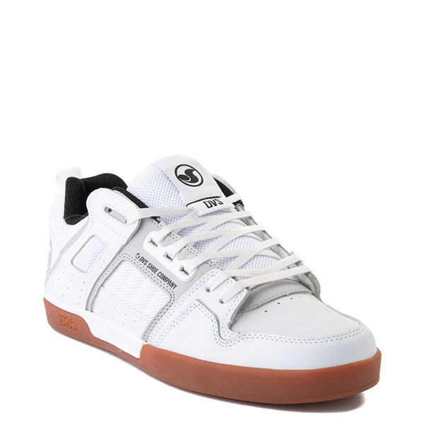 alternate view Mens DVS Comanche 2.0+ Skate Shoe - White / Gray / GumALT1